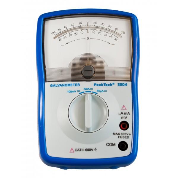 Galvanomètre avec Zéro Central