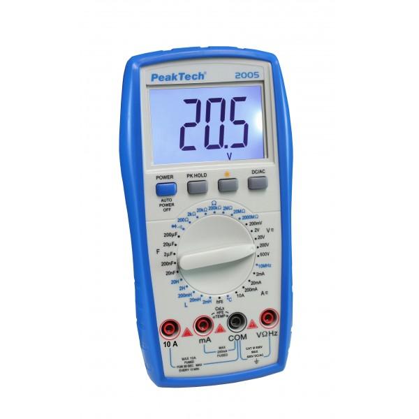 Multímetro Digital 3 ½ dígitos