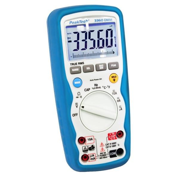 Multímetro Digital 4 ¾ digitos