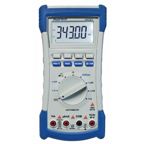 Multímetro Digital 4 ½ dígitos