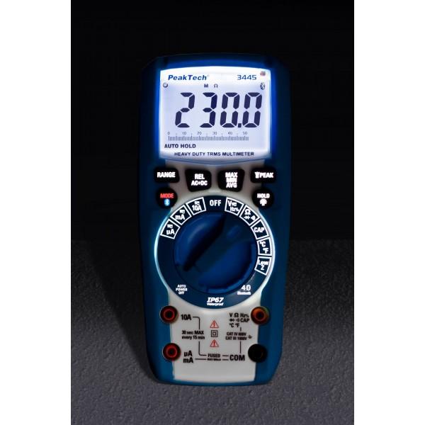 Multímetro Digital 3 5/6 dígitos