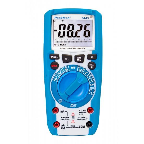 Multimetro Digitale 3 5/6 digit