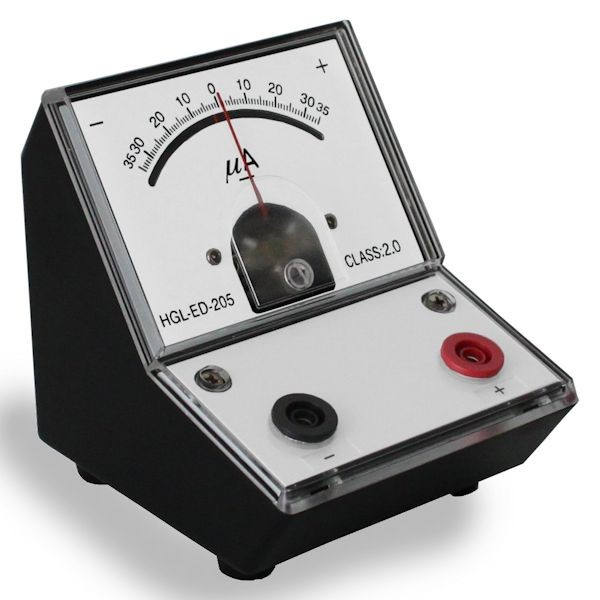 Image Of Meter 96308 Tool Central : Peaktech moving coil microamperometer with