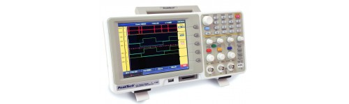 Oscilloscopes - Two Channels + Logic Analizer