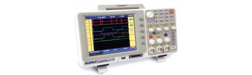 Osciloscopios - Dos Canales + Analizador Lógico