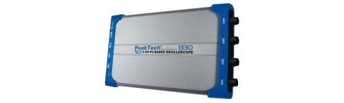Oscilloscopes - PC Based 1, 2, 4 Channels